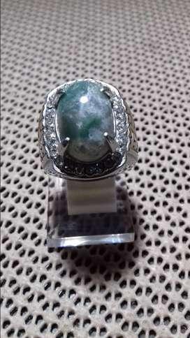 Cincin Batu Lumut Hijau