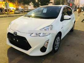 Toyota Aqua..( Drive your own car on easy installments