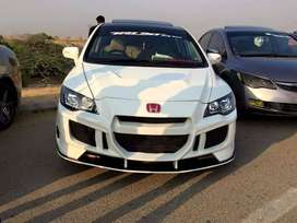 HONDA REBORN (FRONT,BACK) BUMPERS AND SIDE SKIRTS