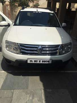 Sell my duster 2014 only 4.20 lac