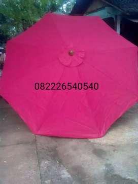 Grosir lebih murah - payung tenda kayu stand jualan