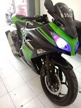 Ninja 250 FI 2016 cash/kredit Mesin Sangat Gres