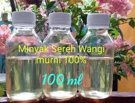 Minyak Sereh Wangi Murni 100%- Citronella Oil
