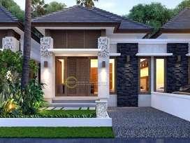 2 Unit Rumah Klasik Desain Minimalis Mewah di Tengah Kota Medan