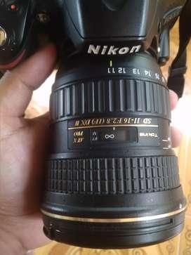 Lensa wide Tokina 11-16 DX II for nikon