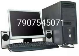 intel dualcore pc 4gb ram 320gb hdd with 19 inch led monitor