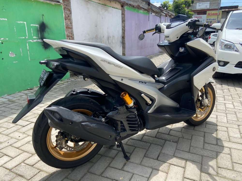 Aerox 2017 / 2018 abs keyless full variasi low kilo