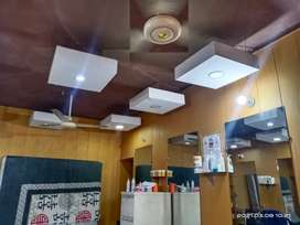 Plaster of paris roof box with light for sale