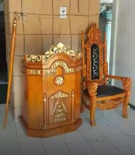 mimbar podium Mimbar masjid.