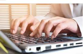 Data entry, copy typing expand &