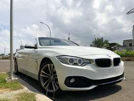 BMW 428i SPORT CONVERTIBLE 2014/2015 WHITE ON RED ATPM