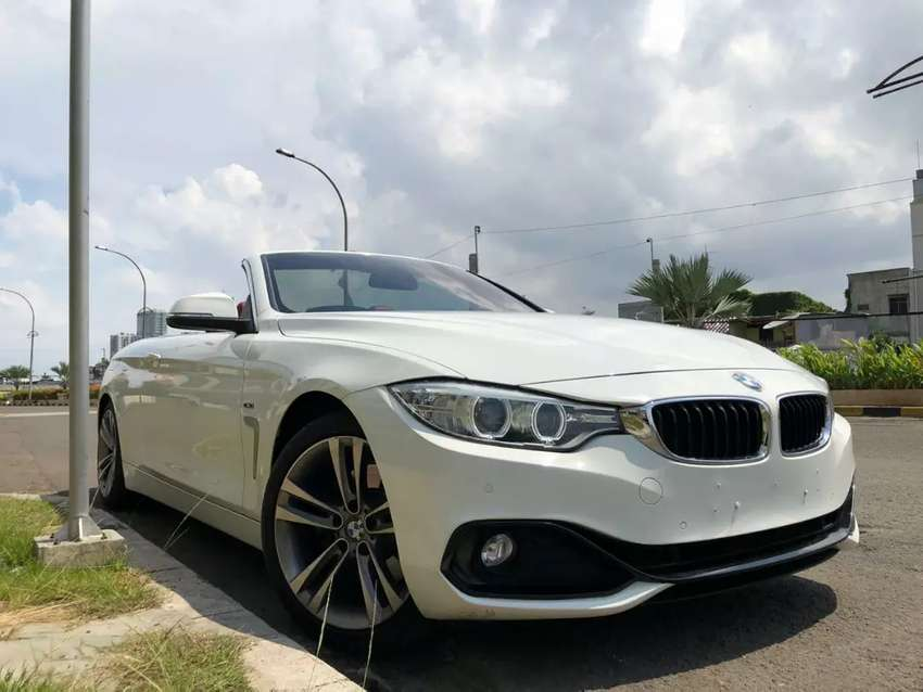 BMW 428i SPORT CONVERTIBLE 2014/2015 WHITE ON RED ATPM 0