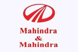 Urgent hiring for mahindra & mahindra company