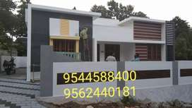 6 Cent Plot With 1400 sq.ft 3BHK house. In mylapore