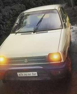 Maruti Suzuki 800 1992 Petrol 85000 Km Driven..