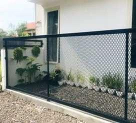 Nerimah pembuatan pagar ram baja desien terbaik @2797