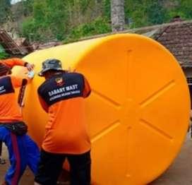 Tandon air 1100 liter bahan plastik Gratis antar