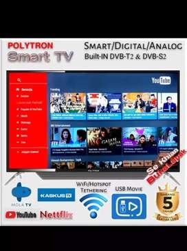 POLYTRON PLD-43AS1558 LED TV 43 Bila Berminat bisa Datang ke Toko