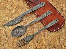 Cutlery set with new designs