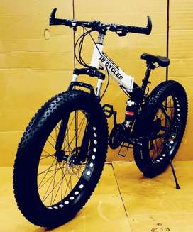 NEW FAT TYER FOLDING CYCLES AVAILABLE WITH 21 GEARS