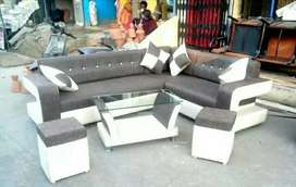 New look sofa with 5 year warranty