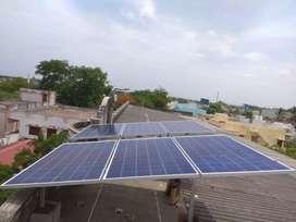 Solar, Inverter and tubular batteries