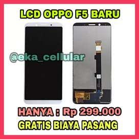 Lcd Oppo F5 Murah dan gratis pasang (EKA CELL PS)
