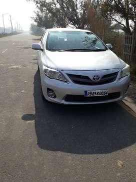Corolla altis pb no. Silver color