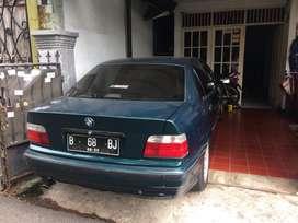 BMW E36 kondisi sehat, dipakai sehari-hari, irit bbm