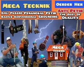 Paket lengkap toko pasang penangkal petir Cikakak / Sukabumi