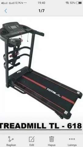 Ready stock baru treadmill elektrik tl 618 4 fungsi
