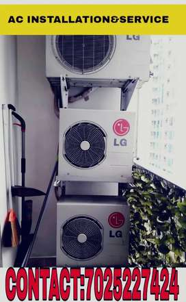 AC INSTALLATION AND SERVICE