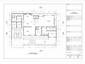 Menerima gambar bangunan untuk perizinan IMB dan untuk proyek