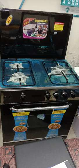 3 burner cooking range