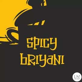 Spicy briyani