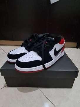 Air Jordan Low 1 Bredtoe PREMIUM!! LEGITT!!