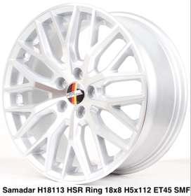 Velg baru hsr SAMADAR H18113 HSR R18X8 H5X112 ET45 SMF