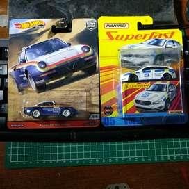 Hot wheels Porsche 959 wild terrain & matchbox volvo superfast