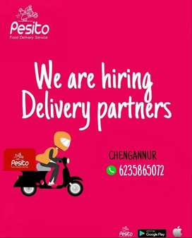 delivery boys needed to chegannur