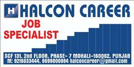 One Plumber and Ac Operator Urgent requirement in Mohali