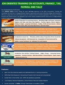 PRACTICAL WORKSHOP ACCOUNTS & TAXATION