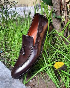 PUMAN NEW STYLE LEATHER HAND MADE SHOES