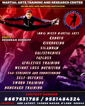 Martial arts for fitness and weight loss