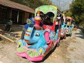 kereta motor odong odong gajah siap pakai RY