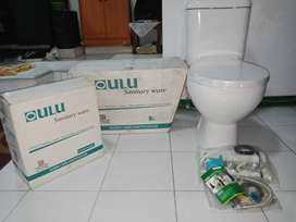 Oulu Closet Duduk C633 Sanitary Ware Baru