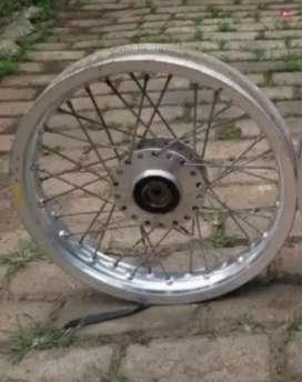Velg Alumunium + Tromol depan Yamaha Mio ring 14