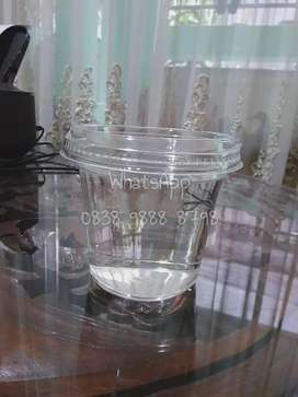 Cup puding salad sop buah plastik mika exclusive fancy