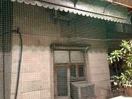 Pigeon net, Bird net, Balcony Net, 10rs/ sq foot areaabove 120sqfoot
