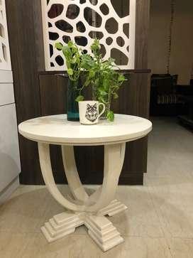White Tea Table