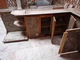 Kitchen cabnet 5 box n oven area